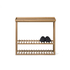 Wireworks Hello Storage Console Table - Oak: Image 5