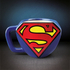 DC Comics Superman Shaped Mug: Image 1