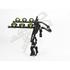 Buzz Rack Beetle 3 Bike Strap On Rack - Black: Image 2