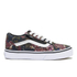 Vans Kids' Old Skool Zip Trainers - Moody Floral/Black/True White: Image 1