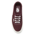 Vans Women's Authentic Varsity Suede Trainers - Red Mahogany: Image 3