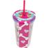 Pug Straw Cup - Multi (16oz): Image 2