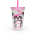 Panda Straw Cup - Multi (16oz): Image 1