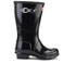 Hunter Kids' Original Gloss Wellies - Black: Image 1