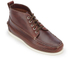 Bass Weejuns Men's Ranger Camp Moc Leather Lace Up Boots - Dark Brown: Image 2
