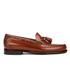 Bass Weejuns Men's Larkin Tassle Leather Loafers - Mid Brown: Image 1