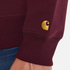 Carhartt Men's Chase Sweatshirt - Chianti/Gold: Image 6