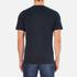 Carhartt Men's Short Sleeve Base T-Shirt - Navy/White: Image 3