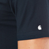 Carhartt Men's Short Sleeve Base T-Shirt - Navy/White: Image 6