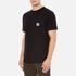 Carhartt Men's Short Sleeve State Pocket T-Shirt - Black: Image 2