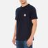 Carhartt Men's Short Sleeve Slate Pocket T-Shirt - Navy: Image 2