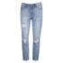 ONLY Women's Lima Boyfriend Denim Jeans - Blue: Image 1