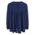 ONLY Women's Rush Denim Long Sleeve Top - Dark Blue Denim: Image 2
