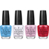 OPI Alice In Wonderland Nail Varnish Collection -  Mini Royal Court of Colour Mini Pack 4 x 3.75ml: Image 1