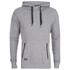 Threadbare Men's Lisbon Hoody - Light Grey: Image 1