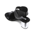 McQ Alexander McQueen Women's Shackwell Strap Heeled Sandal - Black: Image 4