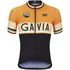 Alé Classic Gavia Short Sleeve Jersey - Black/Orange/White: Image 1