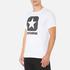 Converse Men's All Star Shield Reflective Rain Box Star T-Shirt - White: Image 2