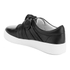 Senso Women's Annie Front Bow Leather Slip On Trainers - Ebony: Image 4