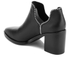 Senso Women's Huntley I Heeled Leather Ankle Boots - Ebony: Image 4