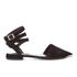 Senso Women's Fleur II Pointed Suede Toe Flats - Ebony: Image 1