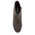 Dune Women's Pebble Mid Heeled Suede Boots - Grey: Image 3