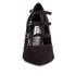 Dune Women's Carbon T Bar Suede Court Shoes - Black: Image 4
