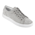 ETQ. Men's Low Top 1 Leather Trainers - Alloy: Image 2