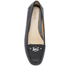 MICHAEL MICHAEL KORS Women's May Leather Moc Flat Pumps - Black: Image 3