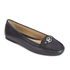 MICHAEL MICHAEL KORS Women's May Leather Moc Flat Pumps - Black: Image 2