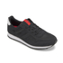 Jack & Jones Men's Fayette Mesh Trainers - Anthracite: Image 2