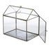 Nkuku Miro Greenhouse - Antique Zinc - Small: Image 4