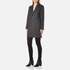 A.P.C. Women's Single Breasted Coat - Grey: Image 2