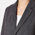 A.P.C. Women's Single Breasted Coat - Grey: Image 4