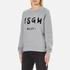 MSGM Women's Logo Sweatshirt - Grey: Image 2