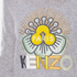 KENZO Women's Flower Logo Knitted Jumper - Light Grey: Image 5