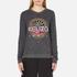 KENZO Women's Tenamie Flower Sweatshirt - Dark Grey: Image 1