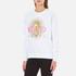 KENZO Women's Tanami Flower Logo Sweatshirt - White: Image 2