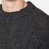Vivienne Westwood Anglomania Men's Long Ribs Jumper - Charcoal: Image 7
