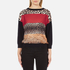 Boutique Moschino Women's Contrast Jumper - Multi: Image 1