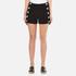 Boutique Moschino Women's Button Shorts - Black: Image 1
