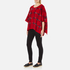 Boutique Moschino Women's Cape Jumper - Red: Image 4