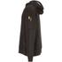 Caterpillar Men's Lightweight Tech Hooded Sweatshirt - Black: Image 2
