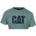 Caterpillar Men's Logo T-Shirt - Green: Image 2