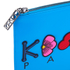 KENZO Women's Occassions A4 Clutch - Blue: Image 4