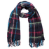 Paul Smith Accessories Women's Mohair Check Scarf - Navy: Image 1