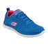 Skechers Women's Flex Appeal Sweet Spot Low Top Trainers - Blue: Image 1