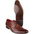 Base London Men's Sew Brogue Shoes - Brown: Image 3