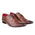 Base London Men's Sew Brogue Shoes - Brown: Image 1