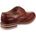 Base London Men's Apsley Brogue Shoes - Camel: Image 2
